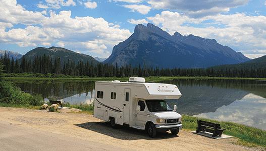 Canada-banff-motorhome